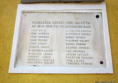 Baktakék I. világháborús emléktábla 2014.02.16. küldő-kalyhas (3)
