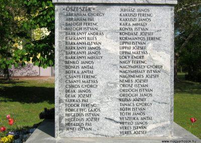 Balástya I. világháborús emlékmű felújítás után 2014.04.21. küldő-Emese (3)