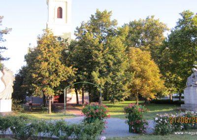 Balástya I.vh és II.vh emlékművek 2011.08.21. küldő-kalyhas
