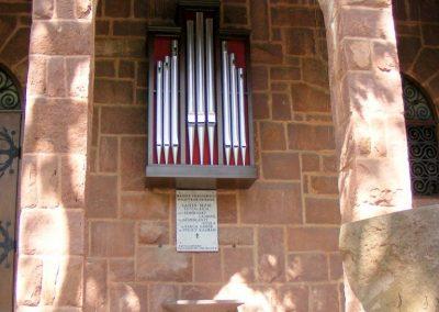 Balatonalmádi-Káptalanfüred, Angyalos Boldogasszony kápolna II. világháborús emléktábla 2012.09.01. küldő-Méri (1)
