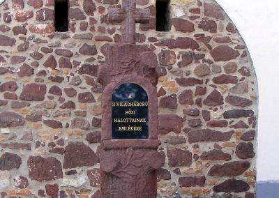 Vörösberény, II. vh.