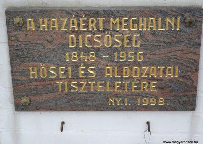 Balatonberény Hősi emlékmű 2009.09.17. küldő-Sümec (3)