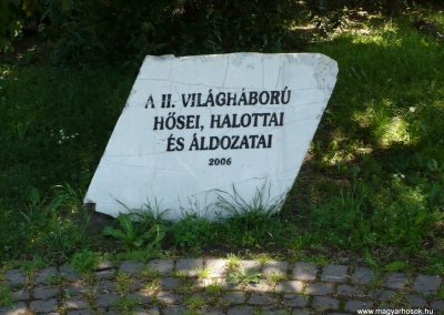 Balatonfüred II.vh emlékmű 2009.05.17.küldő-Ágca (2)