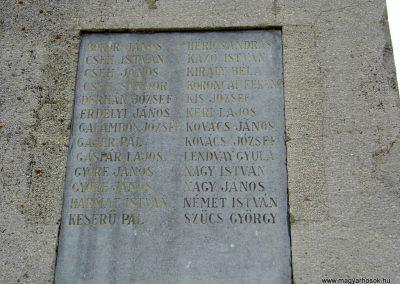 Balatonfőkajár I. világháborús emlékmű 2015.06.19. küldő-Méri (3)