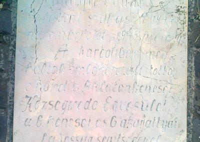 Balatonkenese-Balatonakarattya II.vh emlékmű 2010.07.13. küldő-Csiszár Lehel (2)