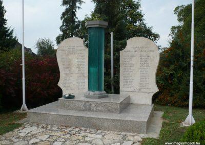 Balatonkeresztúr-Balatonmáriafürdő világháborús emlékmű 2009.09.17. küldő-Sümec (5)