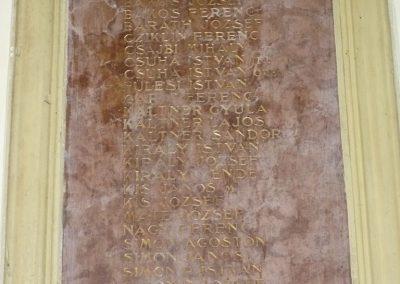 Balatonszentgyörgy I.vh emléktábla 2009.09.17. küldő-Sümec (2)