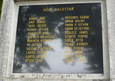 Balatonszentgyörgy II.vh emlékmű 2009.09.17. küldő-Sümec (2)