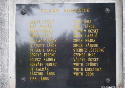 Balatonszentgyörgy II.vh emlékmű 2009.09.17. küldő-Sümec (3)