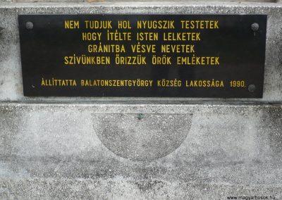 Balatonszentgyörgy II.vh emlékmű 2009.09.17. küldő-Sümec (4)