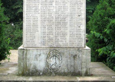 Balmazújváros I.vh emlékmű 2008.06.06. küldő-kalyhas (5)