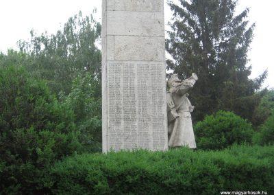 Balmazújváros I.vh emlékmű 2008.06.06. küldő-kalyhas (9)