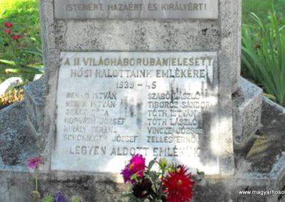 Balogunyom világháborús emlékmű 2009.09.02. küldő-Gyurkusz (5)
