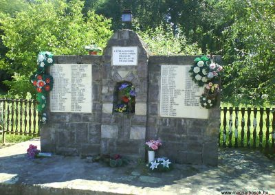 Barabás II.vh emlékmű 2008.08.19.küldő-Ősz Béláné
