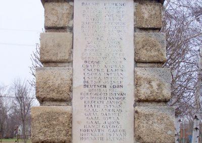 Baracska I. világháborús emlékmű 2013.02.03. küldő-Horváth Zsolt (3)