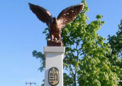 Barcs-Drávapálfalva I. világháborús emlékmű 2015.04.25. küldő-Bagoly András (1)