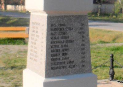 Barcs-Drávapálfalva I. világháborús emlékmű 2015.04.25. küldő-Bagoly András (6)