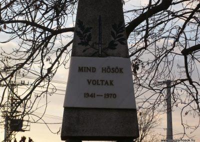 Barcs-Somogytarnóca Hősi emlékmű 2009.01.08.küldő-Sümec (1)