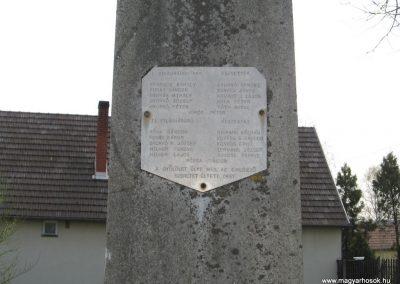 Baté Régi világháborús emlékmű 2009.04.04. küldő-kalyhas (1)