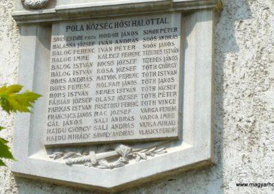 Becsehely-Pola I.vh emlékmű 2009.05.23. küldő-Ágca (3)