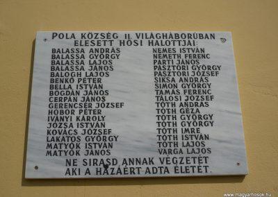 Becsehely-Pola II.vh emléktábla 2009.09.16. küldő-Sümec (1)