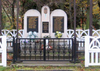 Bekölce világháborús emlékmű 2007.10.24. küldő-kalyhas (1)