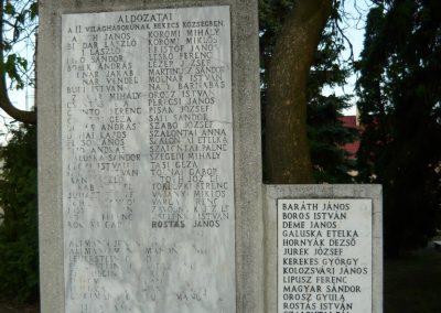 Bekecs II.vh emlékmű 2009.05.08.küldő-Ágca (1)