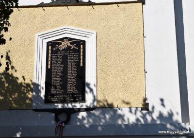 Beled I. világháborús emléktábla 2016.09.30. küldő-Méri (1)
