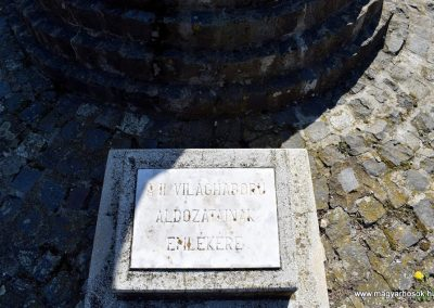 Beled II. világháborús emlékmű 2016.09.30. küldő-Méri (1)