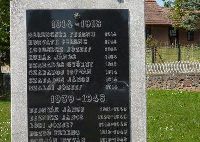Belezna világháborús emlékmű 2009.05.08.küldő-Sümec (3)