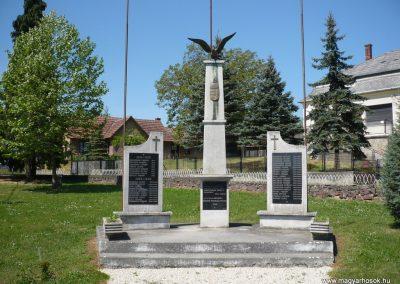 Belezna világháborús emlékmű 2009.05.08.küldő-Sümec