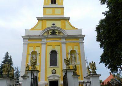 Berzence - katolikus templom - világháborús emléktáblák 2014.06.01. küldő-Huber Csabáné