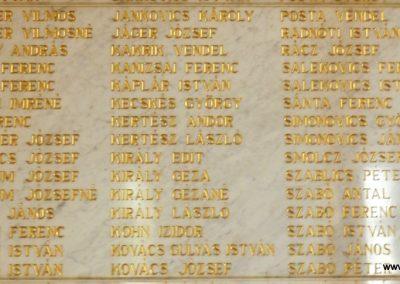 Berzence - katolikus templom - világháborús emléktáblák 2014.06.01. küldő-Huber Csabáné (7)