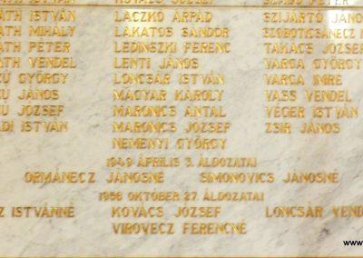 Berzence - katolikus templom - világháborús emléktáblák 2014.06.01. küldő-Huber Csabáné (8)