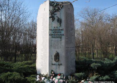 Besenyszög II.vh emlékmű 2008.02.27. küldő-Kályhás (1)