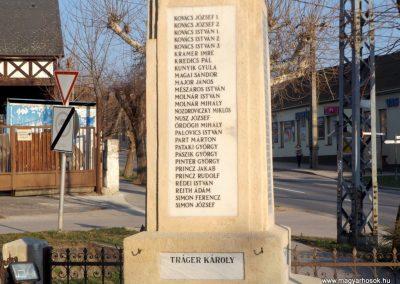 Biatorbágy I. világháborús emlékmű 2019.03.23. küldő-Bóta Sándor (7)