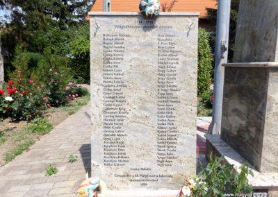 Bihartorda hősi emlékmű 2018.05.26. küldő-Bóta Sándor (2)