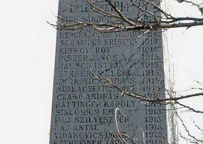 Birján I. világháborús emlékmű 2007.03.18. küldő-Dr.Lázár Gyula Levente (1)