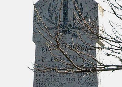 Birján I. világháborús emlékmű 2007.03.18. küldő-Dr.Lázár Gyula Levente (2)