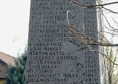 Birján I. világháborús emlékmű 2007.03.18. küldő-Dr.Lázár Gyula Levente (3)