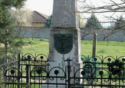Birján I. világháborús emlékmű 2007.03.18. küldő-Dr.Lázár Gyula Levente