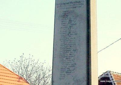 Boba világháborús emlékmű 2011.11.13. küldő-Fáró Jenő (2)