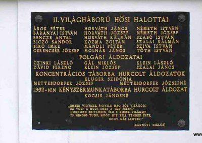 Bocska II.vh emlékmű és síremlékek 2007.08.15. küldő-Hunmi (3)