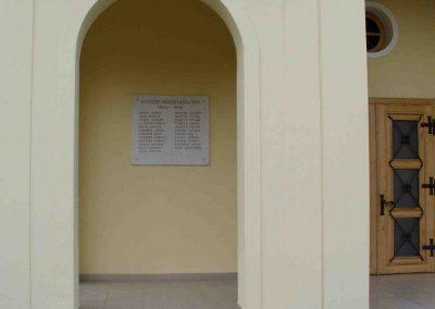 Bocska,templom I.vh emléktábla 2007.08.15. küldő- Hunmi