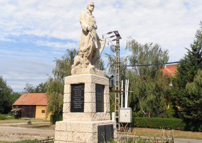 Bodonhely világháborús emlékmű 2012.08.26. küldő-Baloghzoli
