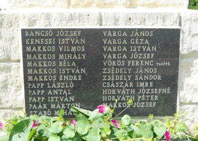 Bodonhely világháborús emlékmű 2012.08.26. küldő-Baloghzoli (6)