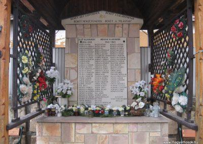 Bodony világháborús emlékmű 2009.03.16. küldő-kalyhas (1)