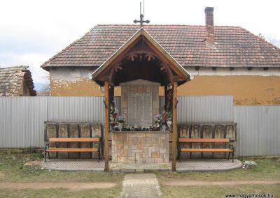 Bodony világháborús emlékmű 2009.03.16. küldő-kalyhas