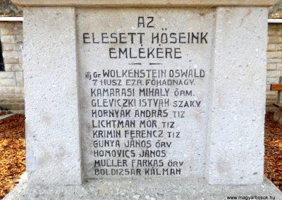 Bodrogkeresztúr Világháborús és '56-os emlékmű 2018.08.25. küldő-kalyhas (3)