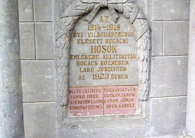 Bogács I. világháborús emlékmű felújítás után 2014.10.09. küldő-kalyhas (3)